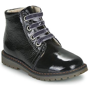Pantofi Fete Ghete GBB NAREA Negru