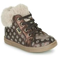 Pantofi Fete Pantofi sport stil gheata GBB JUNA Maro