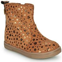 Pantofi Fete Ghete GBB ERNA Coniac