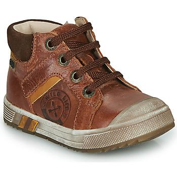 Pantofi Băieți Pantofi sport stil gheata GBB OLANGO Maro
