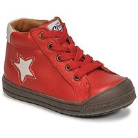 Pantofi Băieți Pantofi sport stil gheata GBB KASSIO Roșu