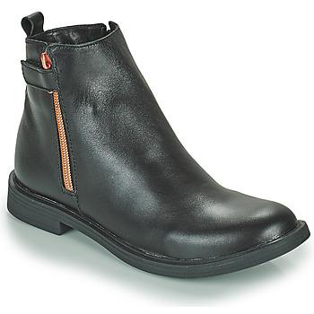 Pantofi Fete Ghete GBB XIANA Negru