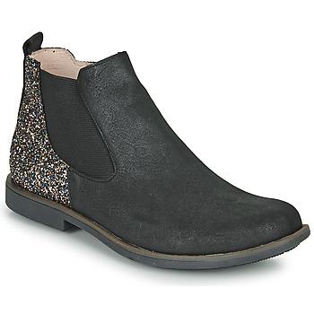 Pantofi Fete Ghete GBB NAKOVO Negru