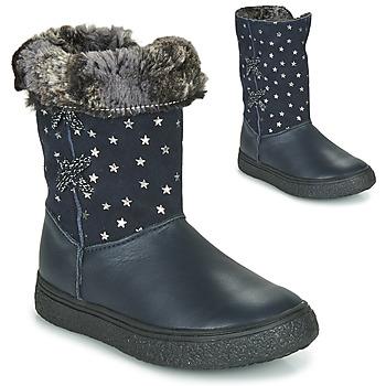 Pantofi Fete Cizme casual GBB OLINETTE Bleumarin
