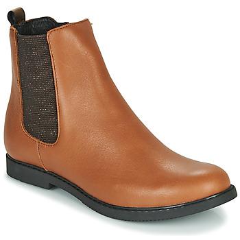 Pantofi Fete Ghete GBB ARANA Coniac