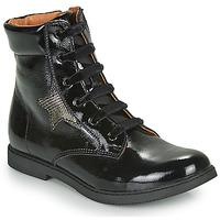 Pantofi Fete Ghete GBB JAMILA Negru