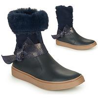 Pantofi Fete Cizme casual GBB EVELINA Bleumarin