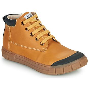 Pantofi Băieți Pantofi sport stil gheata GBB SHEN Coniac