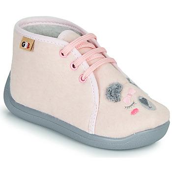 Pantofi Fete Papuci de casă GBB CHARIE Roz