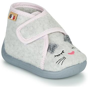 Pantofi Fete Papuci de casă GBB HELORIE Gri