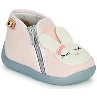 Pantofi Fete Papuci de casă GBB CORI Roz