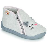 Pantofi Fete Papuci de casă GBB CORI Gri