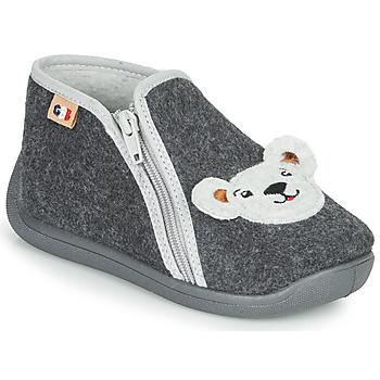 Pantofi Băieți Papuci de casă GBB KITRA Gri