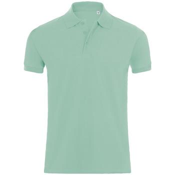Îmbracaminte Bărbați Tricou Polo mânecă scurtă Sols PHOENIX MEN SPORT Verde