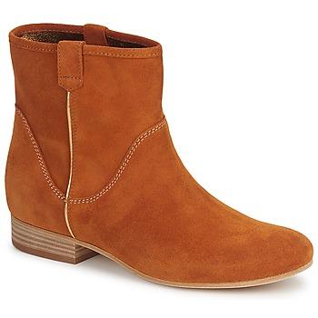 Pantofi Femei Ghete Vic MUI Maro ruginiu