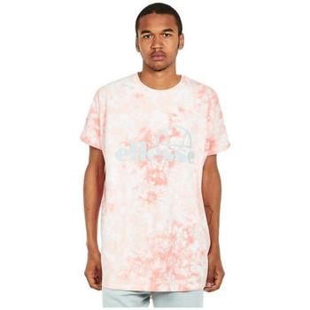 Îmbracaminte Bărbați Tricouri mânecă scurtă Ellesse T-shirt  Starezzo rose pâle/blanc