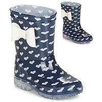 Pantofi Fete Cizme de cauciuc Be Only AMOUR FLASH Bleumarin