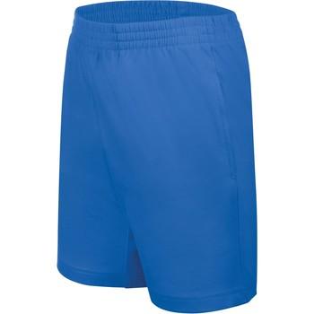 Îmbracaminte Copii Pantaloni scurti și Bermuda Proact Short enfant Jersey  Sport bleu marine