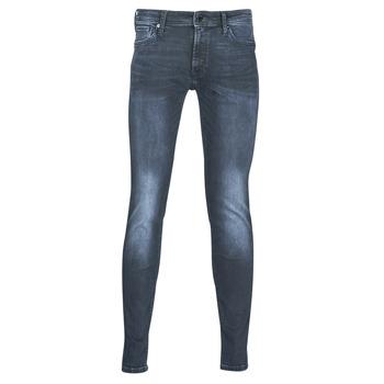 Îmbracaminte Bărbați Jeans slim Jack & Jones JJILIAM Albastru / Culoare închisă