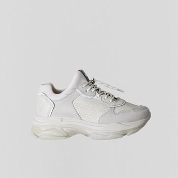 Pantofi Femei Pantofi sport Casual Bronx Chaussures femme  Baisley Suede blanc cassé