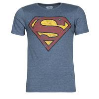 Îmbracaminte Bărbați Tricouri mânecă scurtă Casual Attitude SUPERMAN LOGO VINTAGE Bleumarin