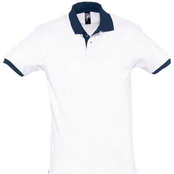 Îmbracaminte Tricou Polo mânecă scurtă Sols PRINCE COLORS Blanco