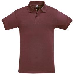 Îmbracaminte Bărbați Tricou Polo mânecă scurtă Sols PERFECT COLORS MEN Violeta