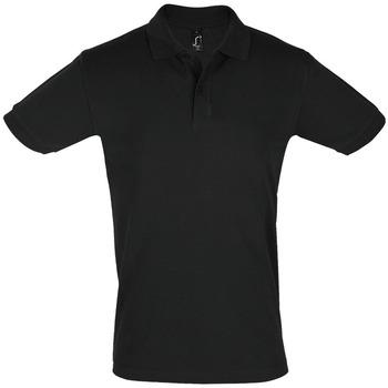 Îmbracaminte Bărbați Tricou Polo mânecă scurtă Sols PERFECT COLORS MEN Negro