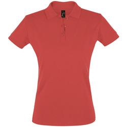 Îmbracaminte Femei Tricou Polo mânecă scurtă Sols PERFECT COLORS WOMEN Rojo