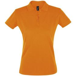 Îmbracaminte Femei Tricou Polo mânecă scurtă Sols PERFECT COLORS WOMEN Naranja