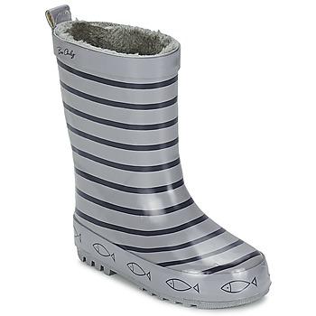 Pantofi Copii Cizme de ploaie Be Only TIMOUSS Gri