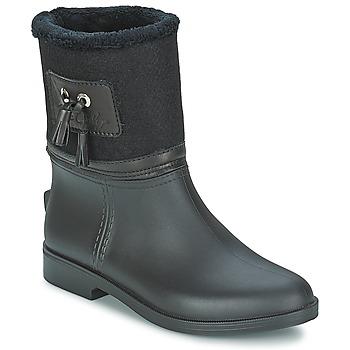 Pantofi Femei Cizme de cauciuc Be Only DIVINE Negru