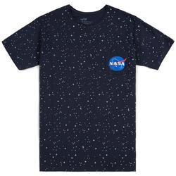 Îmbracaminte Bărbați Tricouri mânecă scurtă Alpha T-shirt  Starry T noir/bleu/blanc