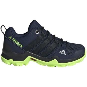 Pantofi Băieți Trail și running adidas Originals Terrex AX2R K Negre,Albastru marim