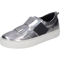 Pantofi Femei Pantofi Slip on Crime London BN383 Argint