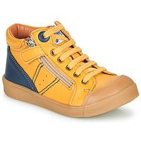 Pantofi Băieți Pantofi sport stil gheata GBB ANATOLE Galben