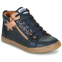 Pantofi Fete Pantofi sport stil gheata GBB VALA Albastru / Roz