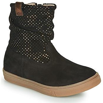 Pantofi Fete Cizme casual GBB KINGA Negru