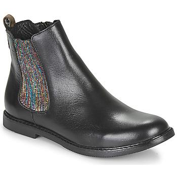 Pantofi Fete Ghete GBB ARANA Negru