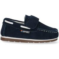 Pantofi Băieți Mocasini Bubble 48474 albastru