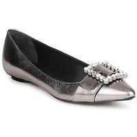 Pantofi Femei Balerin și Balerini cu curea Marc Jacobs MJ19417 Argintiu