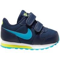 Pantofi Băieți Trail și running Nike MD Runner 2 Albastru marim