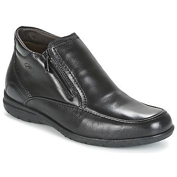 Pantofi Bărbați Ghete Fluchos LUCA Negru