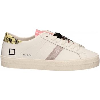 Pantofi Femei Pantofi sport Casual Date HILL LOW CALF PYTHON bianco-giallo
