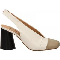 Pantofi Femei Pantofi cu toc Halmanera ORIETT BABY KID stone