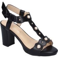 Pantofi Femei Sandale  Brigitte Sandale BN472 Negru
