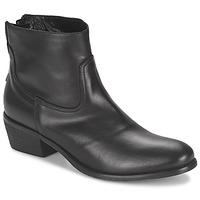 Pantofi Femei Ghete Meline SOFMET Negru