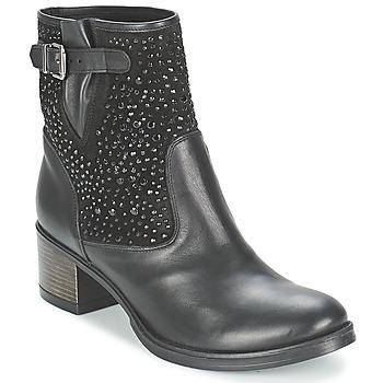 Pantofi Femei Botine Meline NERCRO Negru
