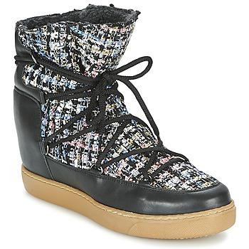 Pantofi Femei Ghete Meline DERNA Negru