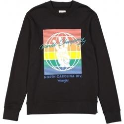 Îmbracaminte Bărbați Hanorace  Wrangler Sweat  Globe noir/multicolore